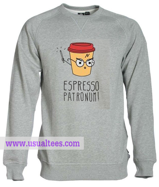 Espresso Patronum Sweatshirt