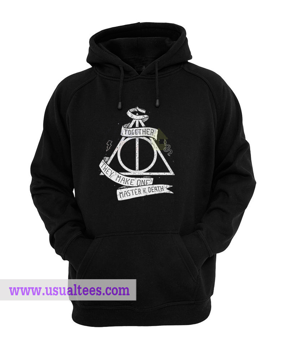 Harry Potter Deathly Hallows Quote Unisex Hoodie