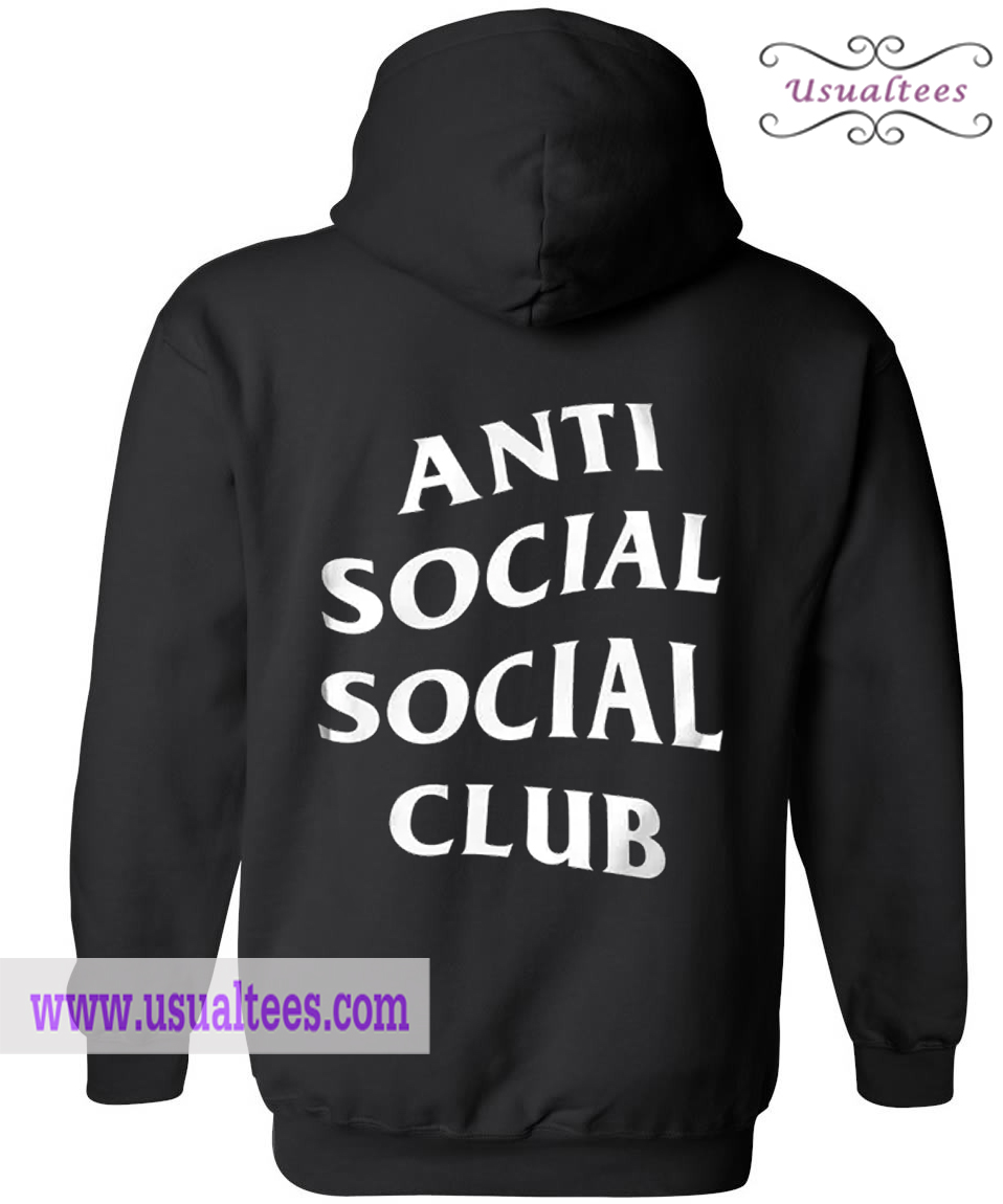 Anti Social Social Club Hoodie Back