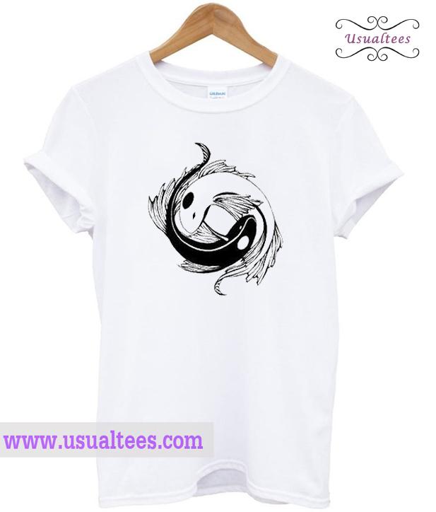 Yin Yang Koi Fish T Shirt
