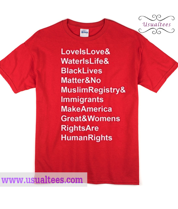 Water Is Life Quote Fascinating Is Love Water Is Life Quotes T Shirt
