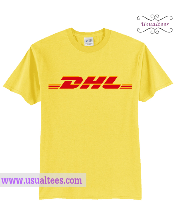 dhl logo shirt. Black Bedroom Furniture Sets. Home Design Ideas