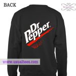 Dr Pepper Back Sweatshirt