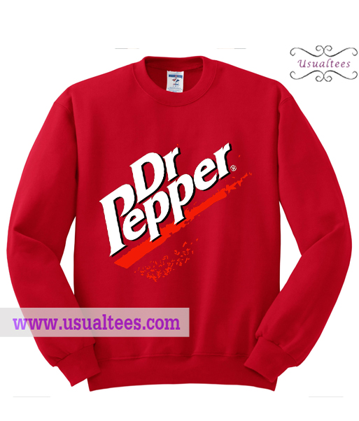 Dr Pepper Logo Sweatshirt