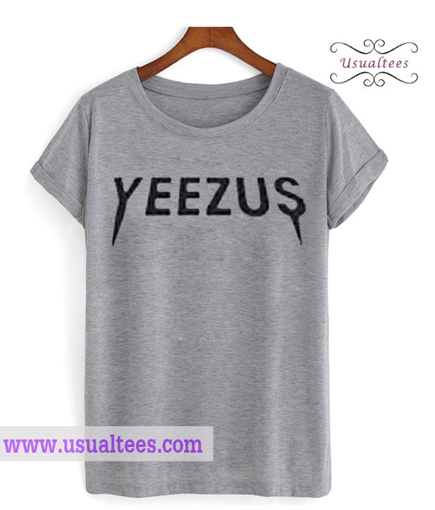 Yeezus Logo Kanye West T Shirt