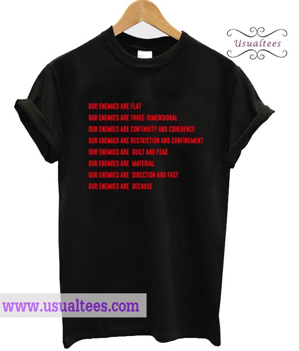 Yang Li Our Enemies T Shirt