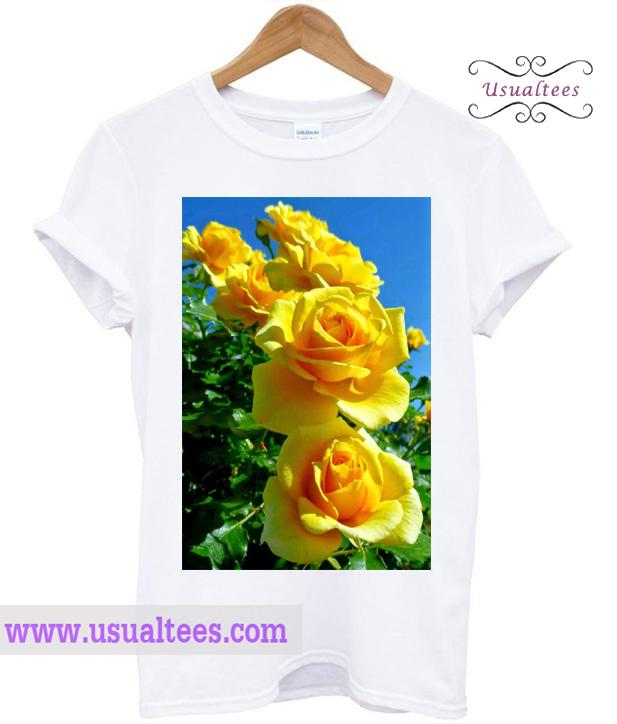 Yellow Rose T Shirt