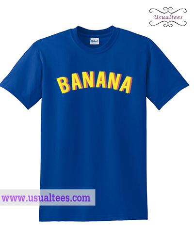 Banana Font T Shirt