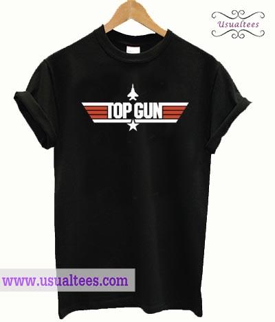 TOP GUN Black T shirt