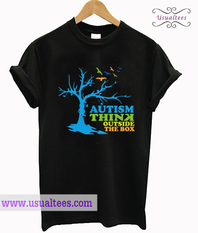 Autism Think Outside The Box T Shirt