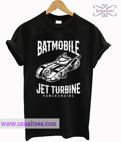 Batmobile Jet Turbine Powerengine T Shirt
