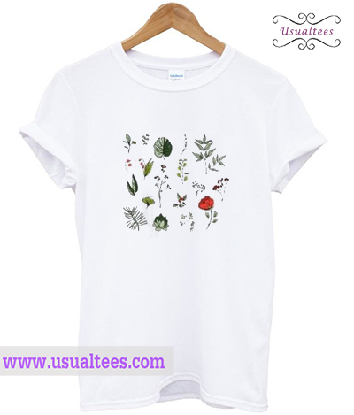 Cute botanical T Shirt