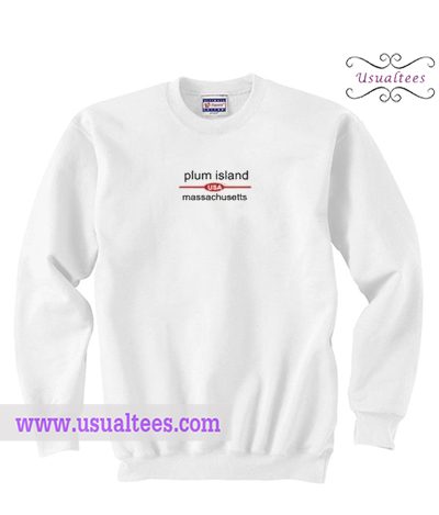 Plum Island Massachusetts Sweatshirt