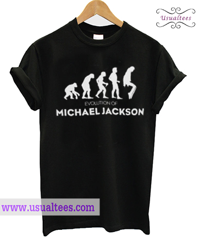 Evolution of Michael Jackson T-Shirt