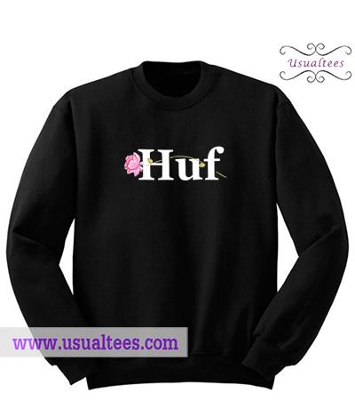 Huf la vie en rose Sweatshirt