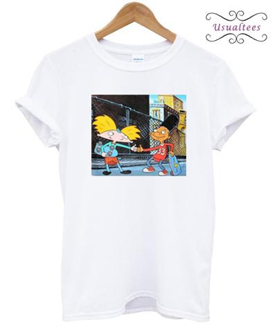 Hey Arnold Handshake T-shirt
