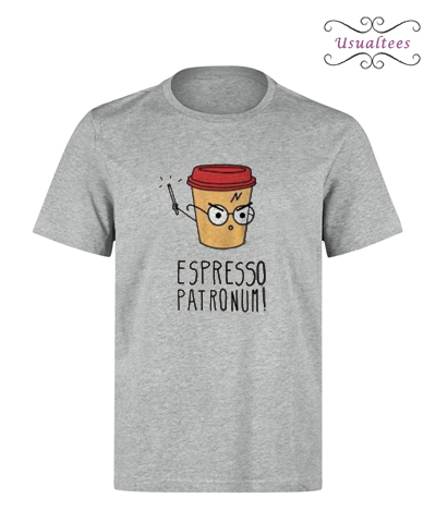 Espresso Patronum Harry Potter Parody T-shirt
