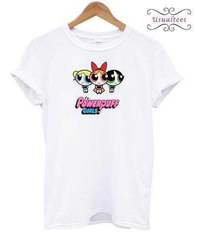 The Powerpuff girls Cartoon Show Girl T-Shirt